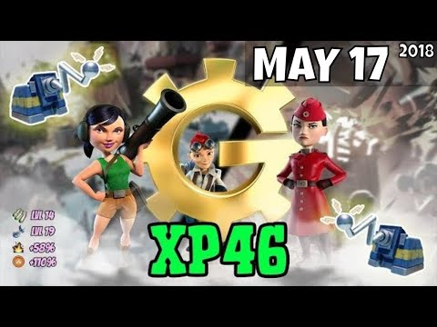 Boom Beach War Factory (XP46) Unboosted - May 17/2018