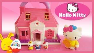 Hello Kitty - la maison de kitty - Jouet pour enfants - Touni Toys - Titounis