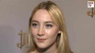 Saoirse Ronan Interview Justin And The Knights Of Valour Premiere