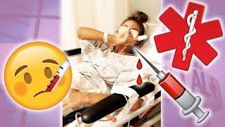 WHY I WAS RUSHED TO THE ER...