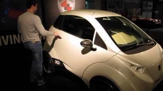 Dok-Ing XD Electric Car 3seater 0-60 in 4.2 sec Made in Croatia