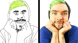 DRAWING YOUTUBERS!