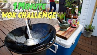 Cooking Three Authentic Thai Street Dishes in Under One Minute