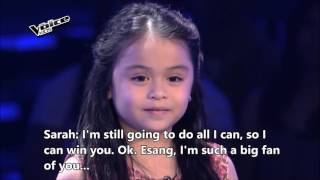 The Voice Kids Philippines Blind Audition 'Home' by Esang with English Subtitles