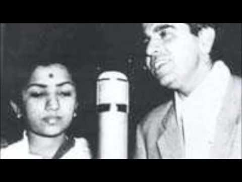 Dilip Kumar Sings with Lata ji