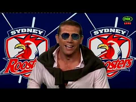 The Late Show With Matty Johns -  Fletch's Welcome For Cooper