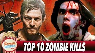 Top 10 Zombie Kills Ever!