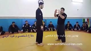self-defenceآموزش دفاع شخصی پیشرفته_دفاع هل دادن