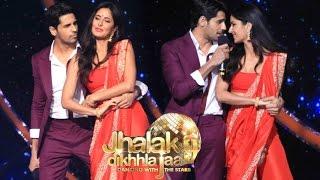 Katrina Kaif Hot Performance With Sidharth Malhotra In On Jhalak Dikhla Jaa Season 9