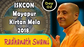 ISKCON Mayapur Kirtan Mela 2018 - Day 2 Kirtan - Radhanath Swami
