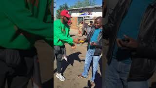 DJ Sbu at Tembisa Taxi Rank promoting his radio station Massiv Metro & his energy drink MoFaya.