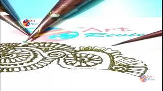 How to make henna Mehndi Designs for Bridal ❤❤ Simple Mehendi Design 2018 series III