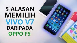 VIVO V7 LEBIH BAGUS DARI OPPO F5 ??!!