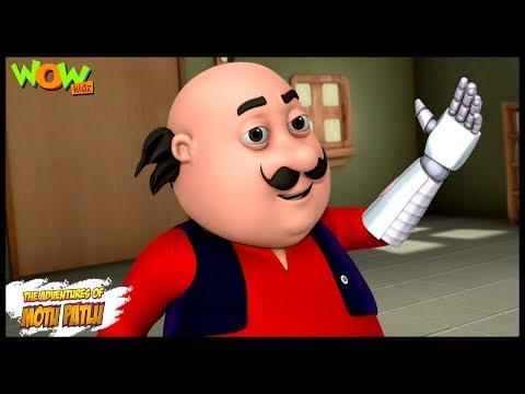Robot Hand - Motu Patlu in Hindi