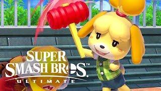 Super Smash Bros. Ultimate - Isabelle Official Reveal Trailer