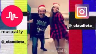 Musical.ly Christmas by @_claudieta_ & @martin_mtv_spain
