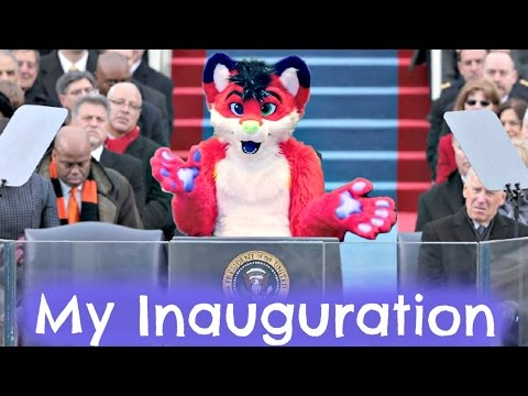watch My Inauguration   First Furry President of the United States