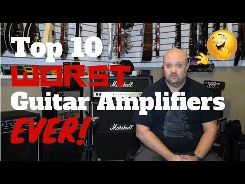 Top 10 WORST Guitar Amplifiers EVER!