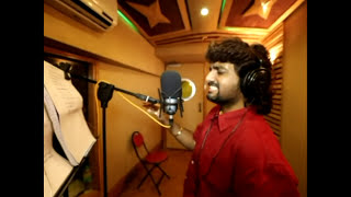 Waakya song Making Videos Singer Adarsh shinde film by Deepak kadam