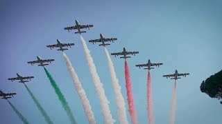 Piazza di Siena, l'Italia vince la Coppa delle Nazioni: le frecce tricolori volano sulla Capitale