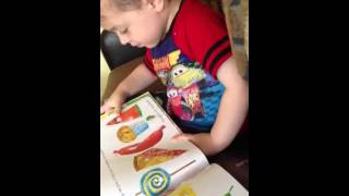Jay jay discussing the hungry caterpillar