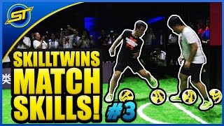 SkillTwins In Real Game Football Match Skills #3 ★ Tricks/Goals/Pannas/Shoots