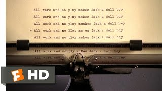The Shining (3/7) Movie CLIP - All Work and No Play (1980) HD