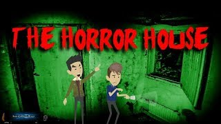 The Horror House-Scary stroy (Animated in Hindi) |IamRocker|