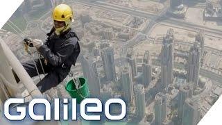Wie fühlt es sich an im höchsten Gebäude der Welt zu übernachten?   Galileo   ProSieben