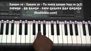 Sanam Re Piano Tutorials - Title Song