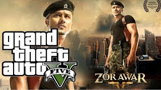 Yo Yo Honey Singh | ZORAWAR 2 Film Trailer In GTA 5 Version