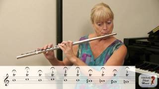 Flute Lesson - Great Flute Exercise for Trills