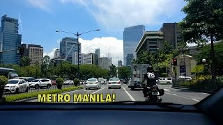 PHILLIPINES IS JUST LIKE BANGALORE ! But with SKY SCRAPPERS.