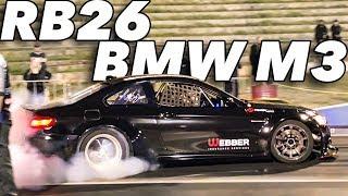 Widebody M3 DRIFT CAR Goes DRAG Racing!