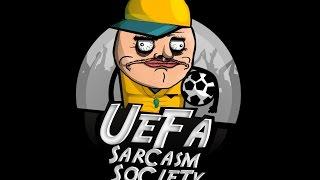 ازاى تعمل  كوميك كوره نضيف UEFA SARCASM SOCIETY