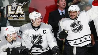 Pacific vs Metropolitan | 2017 NHL All-Star Game | Highlights | Jan. 29, 2017 [HD]