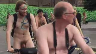 2016 London Naked Bike Ride (WARNING: Contains Full Frontal Nudity)