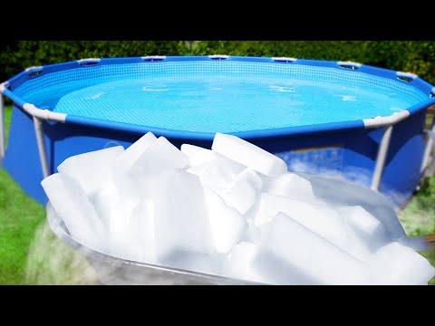 Dry Ice Swimming Pool