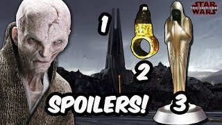 Huge Spoilers! Everything You Need To Know About Snoke Going Into The Last Jedi! - STAR WARS