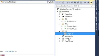 POS - Step By Step in c# - Create Project Using 3 Tier architecture - 02