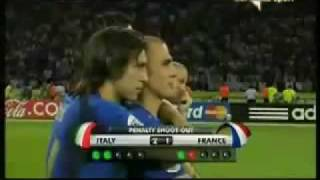 2006 World Cup Germany - Final - Penalty Shootout