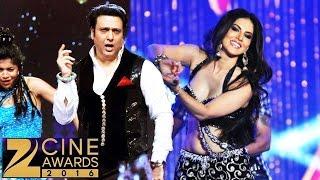 Sunny Leone & Govinda's ROCKING PERFORMANCE At Zee Cine Awards 2017