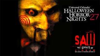 Saw Haunted House Walk Through 4K POV Halloween Horror Nights Universal Orlando HHN 27 2017