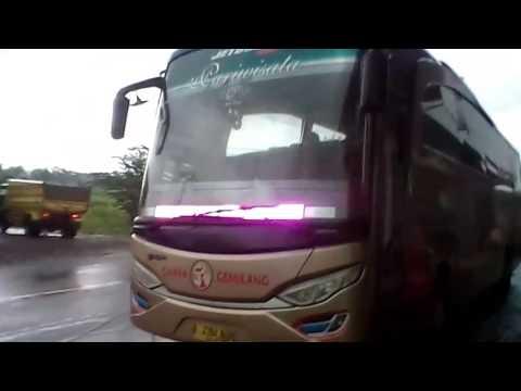 Telolet lagu bus cahaya gemilang di kr.moncol
