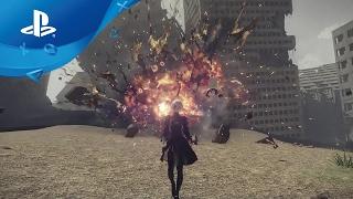 NieR: Automata - Gameplay-Trailer: Elegante Zerstörung [PS4]