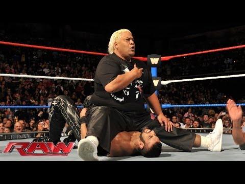 Too Cool & Rikishi vs. 3MB: Raw, Jan. 6, 2014