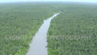 aerial filming over SUNDARBANS, Bangladesh