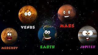 Planets Song   Kids Songs   Nursery Rhymes   Rhymes For Children   Kids Tv Cartoon Videos For Kids
