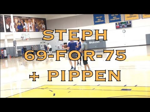 Xxx Mp4 Steph Curry Splashes 69 For 75 On 3s Scottie Pippen W Steve Kerr After Practice In Oakland 3gp Sex
