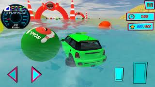 Superhero Colour Stunt Car Cartoons For KIds - Rhymes For Children - Android Gameplay